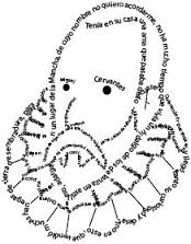 caligrama Cervantes